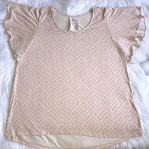 Butterfly Sleeve Maternity Top
